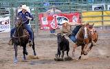 07-14-18 Wyoming Casper Rodeo Steer Wrestling 003