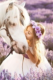 A Girl & Her Pony