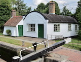 Lock keeper's (lengthsman's) cottage at Lowsonford, U.K.