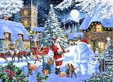 Santa Snowman~ KeithStapleton