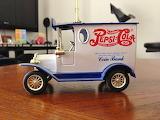 #Collectible Pepsi Antique Truck Bank