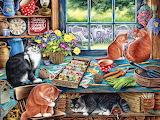 Cats Retreat, Irina Garmashova-Cawton