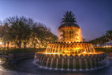 #Park with Pineapple Fountain Charleston SC