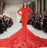 Stephane Rolland Spring 2012 Finale Dress