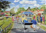 The Village Bus Stop - Trevor Mitchell