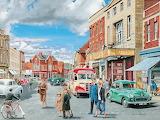 1950s High Street- Trevor Mitchell