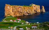 Perce Rock, Gaspe Peninsula, Quebec Canada