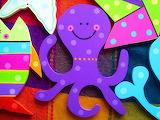 colorful octopus by Rebeca Maltos