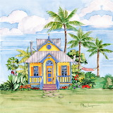 #Tropical Cottage II by Paul Brent