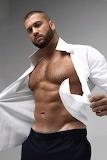 White shirt pull off