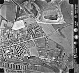 Barnsley From The Air - Goldthorpe 1971
