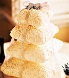 #Beaded Pillow Cake