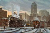 Untitled Railroad Art - David Tutwiler