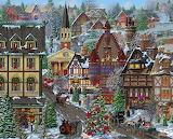 ^ Christmas Village ~ Joseph Burgess