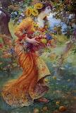 In The Orchard by Franz Dvorak 1912