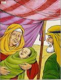 Abrahm y nacimiento de Isaac