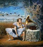 Melody of Rain by Michael Cheval