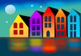 Colours-colorful-houses-digital-art