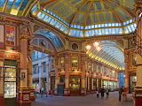 ☺ Leadenhall Market in London...