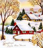 Christmas Houses 1950s