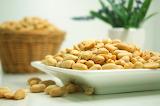^ Salted peanuts