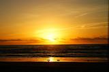 Sunset on the sea / soleil couchant sur la mer