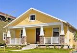 Charming yellow house