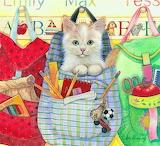 Amy Rosenberg 'Backpack Kitty'