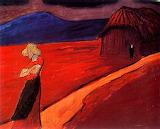Marianne von Werefkin, climat tragique, 1910