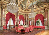 Dining room at The Breakers - Rhode Island