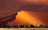 Sand dune. Sossusvlei. Namibia