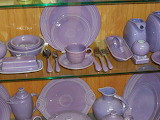 ^ Fiestaware retired lilac color