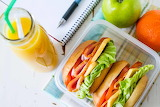 ^ Healthy packed lunch
