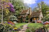Old Flint Cottage ~ Dominic Davison