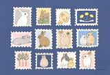 "Madamma tumblr schinako ""Bunny Stamps"""