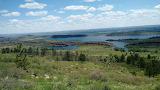 Colorado Horsetooth Reservoir