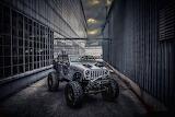 Mean Jeep Wrangler