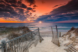 Sunrise access nauset beach cape cod