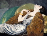 Kees van Dongen, Woman on sofa, 1930
