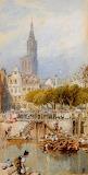 'Ghent' by Myles Birket Foster