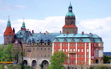 Ksiaz Castle side view Poland