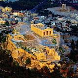 Gorgeous Akropolis-Athems-Greece Evening