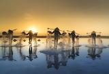 Salt Field Hon Khoi Vietnam