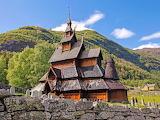 #Borgund Stave Church Norway GettyImages