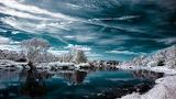 Priroda ozero zima sneg 84271 1920x1080