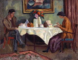 Roger Fry, At the breakfast table, ca 1918