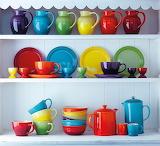 Colourful stoneware