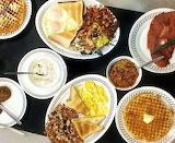 ^ Breakfast choices