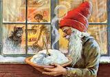 Christmas Porridge~ Jenny Nystrom swedish tomte