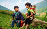 Cute Vietnamese children